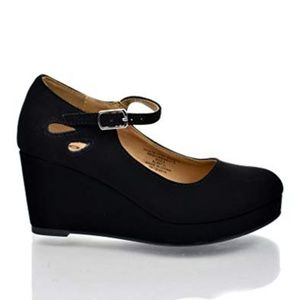 SODA Girls Tylee-IIS Wedge Heel Shoes
